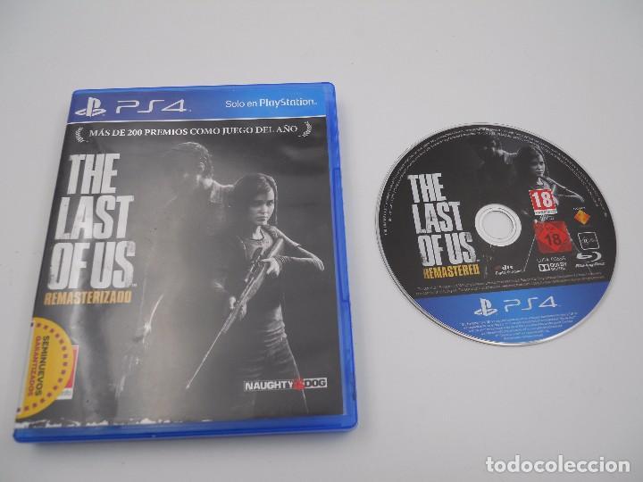 JUEGO THE LAST OF US RESMATERIZADO SONY PLAYSTATION 4 PS4 PAL ESPAÑA.BUEN ESTADO (Juguetes - Videojuegos y Consolas - Sony - PS4)