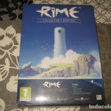 Videojuegos y Consolas PS4: RIME EDICION COLECCIONISTA LIBRO ARTE CD BSO PS4 PAL ESPAÑA PRECINTADO. Lote 95397543