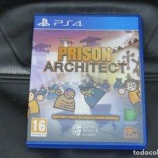 Videojuegos y Consolas PS4: PS4 ARQUITECTO DE PRISIÓN. Lote 149910396
