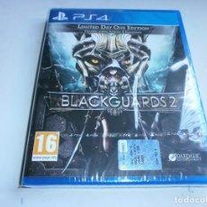 Videojuegos y Consolas PS4: BLACKGUARDS 2 PLAYSTATION 4 NUEVO Y PRECINTADO. Lote 97909543