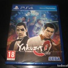 Videojuegos y Consolas PS4: YAKUZA 0 PS4 PAL ESPAÑA PRECINTADO. Lote 97937351