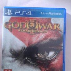 Videojuegos y Consolas PS4: GOD OF WAR REMASTERIZADO. Lote 98054059