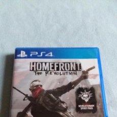 Videojuegos y Consolas PS4: HOMEFRONT THE REVOLUTION - PLAYSTATION 4 - PAL/ESP - SEMINUEVO. Lote 98722159