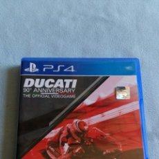Videojuegos y Consolas PS4: DUCATI 90 ANIVERSARIO - PLAYSTATION 4 - PAL/ESP - SEMINUEVO. Lote 98722439