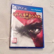 Videojuegos y Consolas PS4: JUEGO PS4 GOD OF WAR 3 REMASTERIZADO. Lote 99171555