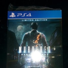 Videojuegos y Consolas PS4: MURDERED: SOUL SUSPECT LIMITED EDITION PS4 UK. Lote 102654571