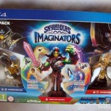 Videojuegos y Consolas PS4: STARTER PACK SKYLANDERS IMAGINATORS PARA PS4, NUEVO SIN ABRIR Y CON VIDEOJUEGO. Lote 105173287