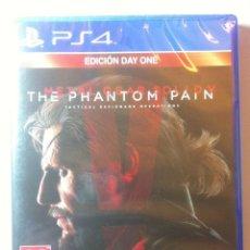 Videojuegos y Consolas PS4: METAL GEAR SOLID V: PHANTOM PAIN - DAY ONE EDITION PLAYSTATION 4 PAL ESPAÑA. Lote 107051015