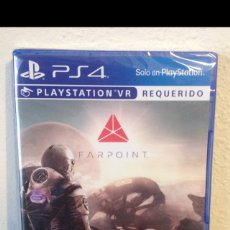 Videojuegos y Consolas PS4: FARPOINT PLAYSTATION VR PS4 NUEVO SIN ABRIR. Lote 108405156