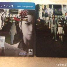 Videojuegos y Consolas PS4: YAKUZA KIWAMI STEELBOOK' EDITION SEGA COMO NUEVO PS4 PLAYSTATION 4 PLAY STATION 4 KREATEN. Lote 108410487
