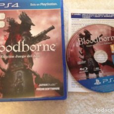 Videojuegos y Consolas PS4: BLOODBORNE EDICION JUEGO DEL AÑO PS4 PLAYSTATION 4 PLAY STATION 4 KREATEN. Lote 108410571