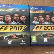 Videojuegos y Consolas PS4: FORMULA 1 2017 EDICION ESPECIAL F1 ONE 17 PS4 PLAYSTATION 4 PLAY STATION 4 KREATEN. Lote 108836187