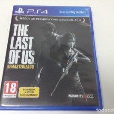 Videojuegos y Consolas PS4: THE LAST OF US REMASTERIZADO. Lote 108841091