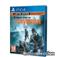 Videojuegos y Consolas PS4: THE DIVISION LIMITED EDITION. Lote 109035719