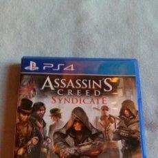 Videojuegos y Consolas PS4: ASSASSIN'S CREED SYNDICATE - PLAYSTATION 4 - PAL/ESP - SEMINUEVO. Lote 109209411