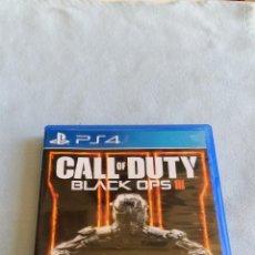 Videojuegos y Consolas PS4: CALL OF DUTY BLACK OPS III (COD BLACK OPS 3) - PLAYSTATION 4 - PAL/ESP - SEMINUEVO. Lote 109209787