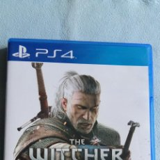 Videojuegos y Consolas PS4: THE WITCHER III: WILD HUNT (WITCHER 3) - PLAYSTATION 4 - PAL/ESP - SEMINUEVO. Lote 109210159