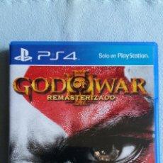 Videojuegos y Consolas PS4: GOD OF WAR III REMASTERIZADO (GOD OF WAR 3) - PLAYSTATION 4 - PAL/ESP - SEMINUEVO. Lote 109210387