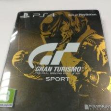 Videojuegos y Consolas PS4: GRAN TURISMO SPORT STEELBOOK PS4. Lote 109334151