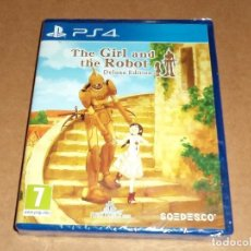 Videojuegos y Consolas PS4: GIRL AND THE ROBOT DELUXE EDITION PARA SONY PLAYSTATION 4 / PS4 A ESTRENAR, PAL. Lote 109453655