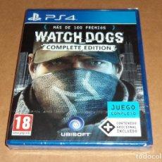 Videojuegos y Consolas PS4: WATCH DOGS : COMPLETE EDITION PARA SONY PLAYSTATION 4 / PS4 ,A ESTRENAR, PAL. Lote 109453871