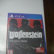 Videojuegos y Consolas PS4: WOLFENSTEIN: THE NEW ORDER (PS4) 2014 - PLAYSTATION 4.. Lote 110015055