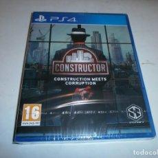 Videojuegos y Consolas PS4: CONSTRUCTOR PLAYSTATION 4 PAL ESPAÑA NUEVO Y PRECINTAOD. Lote 155232873