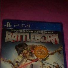 Videojuegos y Consolas PS4: JUEGO DE PLAYSTATION 4 BATTLEBORN PS4 NUEVO SIN ABRIR. Lote 114334943