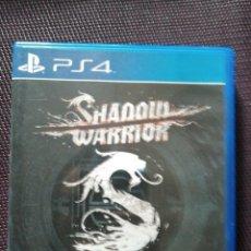 Videojuegos y Consolas PS4: PS4 - SHADOW WARRIOR. OFERTA!. Lote 114700343