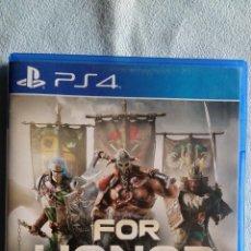 Videojuegos y Consolas PS4: FOR HONOR - PLAYSTATION 4 - PAL/ESP - SEMINUEVO. Lote 114945755