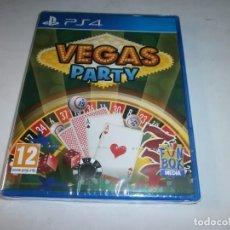 Videojuegos y Consolas PS4: VEGAS PARTY PLAYSTATION 4 PAL NUEVO Y PRECINTADO. Lote 115465667