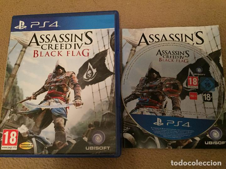 Assassin S Creed Black Flag Iv Ps4 Playstation Buy Video Games