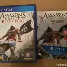 Videojuegos y Consolas PS4: ASSASSIN'S CREED BLACK FLAG IV PS4 PLAYSTATION 4 PLAY STATION 4 KREATEN. Lote 118027519