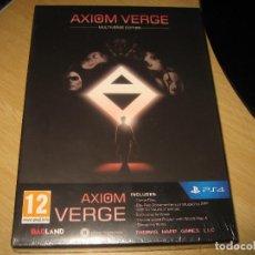 Videojuegos y Consolas PS4: AXIOM VERGE MULTIVERSE EDITION PS4 PAL ESPAÑA PRECINTADO. Lote 120408331