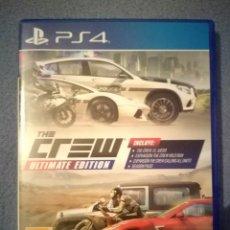Videojuegos y Consolas PS4: PS4 THE CREW ULTIMATE EDITION PLAYSTATION. Lote 120686795