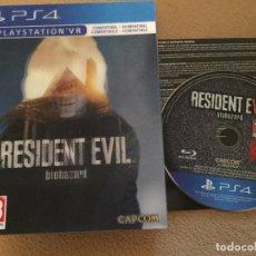 Videojuegos y Consolas PS4: RESIDENT EVIL 7 RE VII PS4 PLAYSTATION 4 PLAY STATION 4 KREATEN COMO NUEVO CAJA ESPECIAL. Lote 120739039