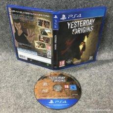 Videojuegos y Consolas PS4: YESTERDAY ORIGINS SONY PLAYSTATION 4. Lote 120944227
