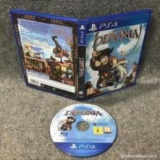 Videojuegos y Consolas PS4: DEPONIA SONY PLAYSTATION 4. Lote 120944255