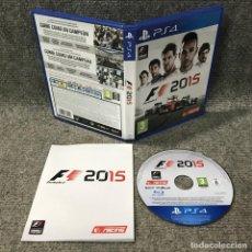 Videojuegos y Consolas PS4: F1 2015 SONY PLAYSTATION 4. Lote 120944275