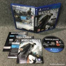 Videojuegos y Consolas PS4: WATCH DOGS SONY PLAYSTATION 4. Lote 120944287
