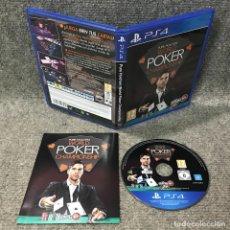 Videojuegos y Consolas PS4: PURE HOLDEM WORLD POKER CHAMPIONSHIP SONY PLAYSTATION 4. Lote 120944291