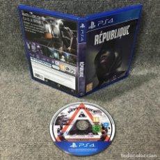 Videojuegos y Consolas PS4: REPUBLIQUE SONY PLAYSTATION 4. Lote 120944299
