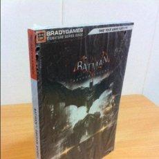 Videojuegos y Consolas PS4: GUÍA OFICIAL DE BRADYGAMES PARA EL JUEGO BATMAN ARKHAM KNIGHT - PS4 - XBOX ONE - PC. PRECINTADO. Lote 121375071