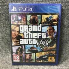 Videojuegos y Consolas PS4: GRAND THEFT AUTO V NUEVO Y PRECINTADO PLAYSTATION 4. Lote 121743151