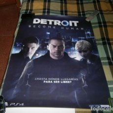 Videojuegos y Consolas PS4: POSTER DETROIT BECOME HUMAN PS4. Lote 123583879