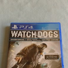 Videojuegos y Consolas PS4: WATCH DOGS - PLAYSTATION 4 - PAL/ESP - CONTIENE MANUAL DE INSTRUCCIONES EN ESPAÑOL - SEMINUEVO. Lote 102030199