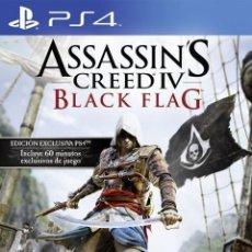 Videojuegos y Consolas PS4: ASSASIN´S CREED BLACK FLAG. Lote 124485879