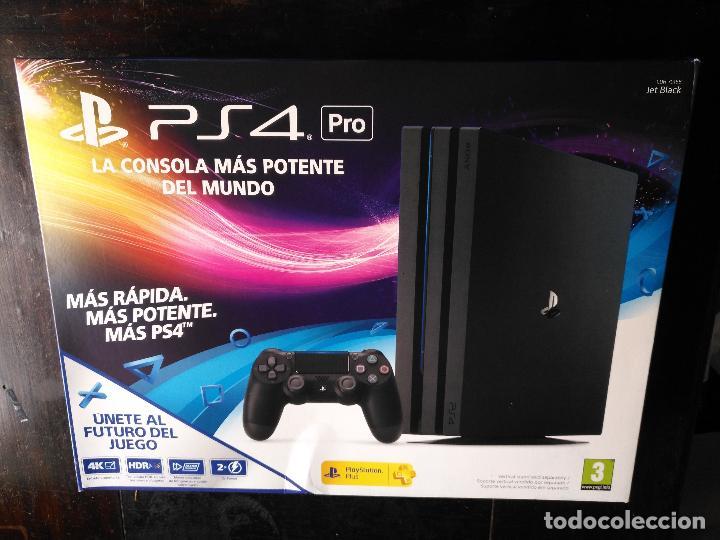 CAJA VACIA DE CONSOLA PLAYSTATION 4 PS4 (Juguetes - Videojuegos y Consolas - Sony - PS4)