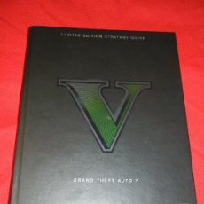 Videojuegos y Consolas PS4: GRAND THEFT AUTO V - LIMITED EDITION STRATEGY GUIDE 2013. Lote 126646987