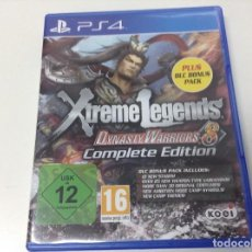 Videojuegos y Consolas PS4: DYNASTY WARRIORS 8 XTREME LEGENDS COMPLETE EDITION. Lote 127468819